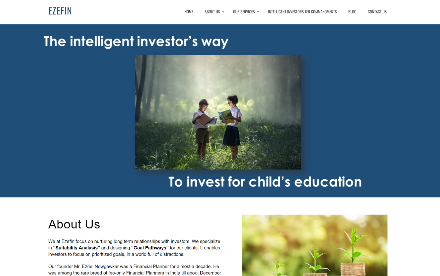 Ezefin Investment Solutions Website Development