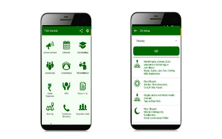 TISS Bulletin Mobile App
